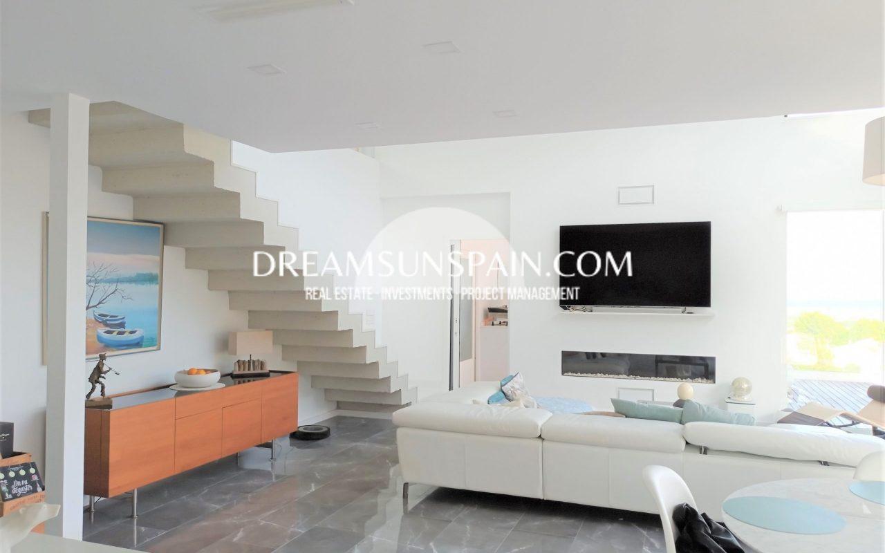 Moderna villa en Dénia