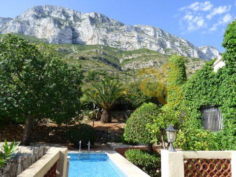 Villa avec vue mer, 5 chambres et piscine à Denia